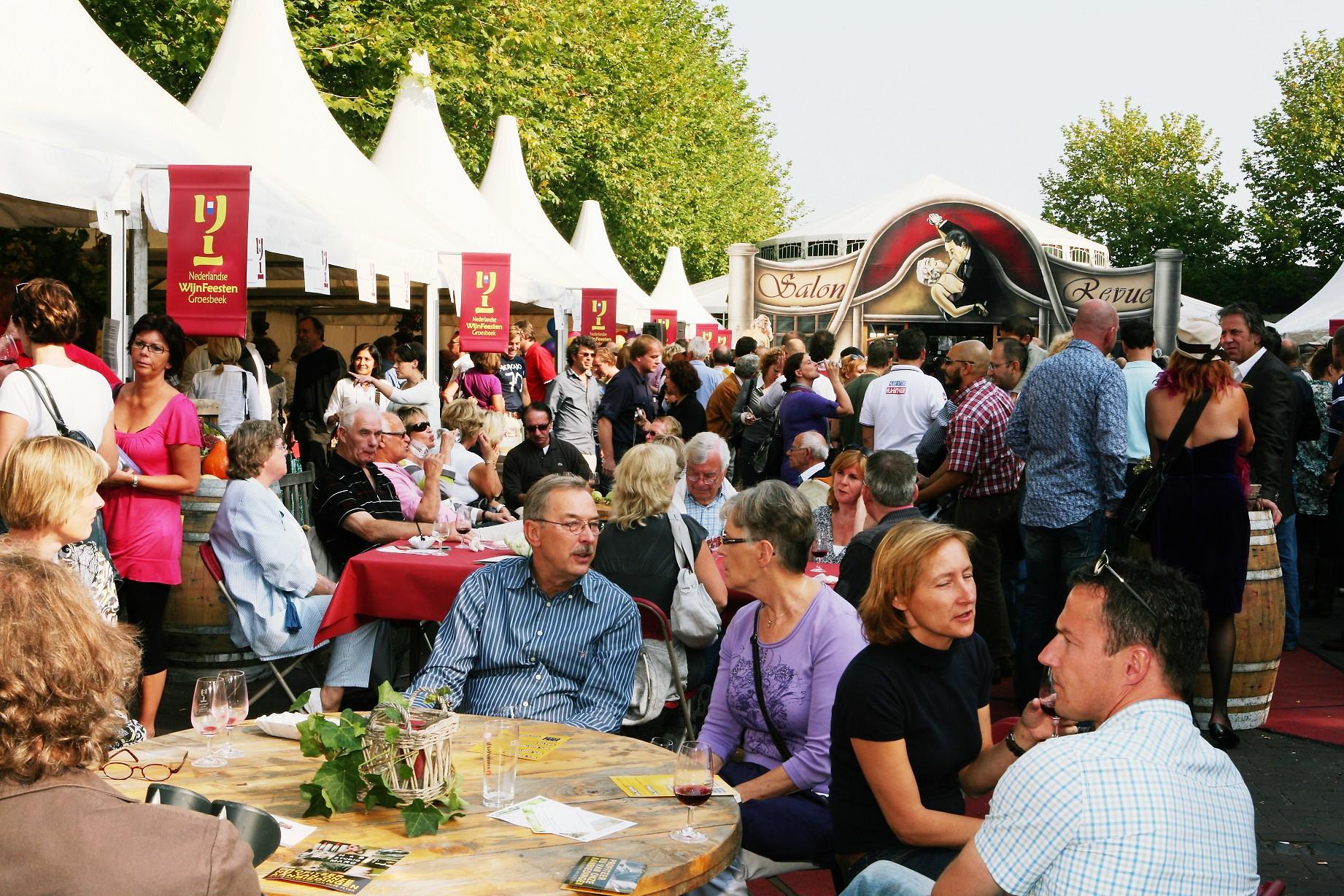 Nederlandse Wijnfeesten Groesbeek