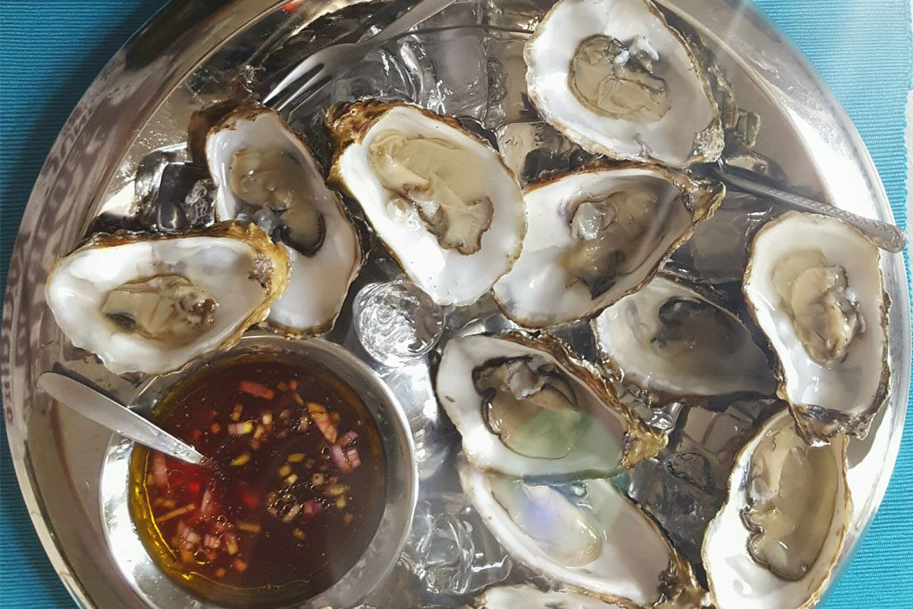 HY Sixty Seven - Winetruck - Oesters